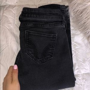 Black- Faded Hollister Jeans
